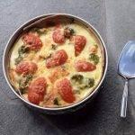Quiche met broccoli, zalm en kaas van mama